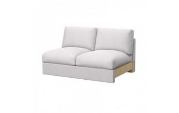 VIMLE 2er-Sitzelement Bettsofa Bezug