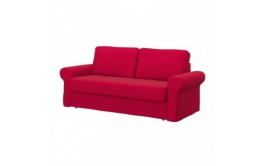IKEA BACKABRO 3er-Bettsofa Bezug, Senses Red