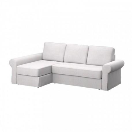 BACKABRO 2er-Sofa mit Recamiere Bezug