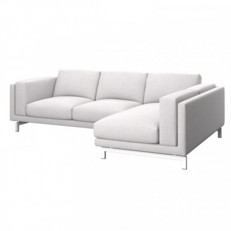 Nockeby Bezug 2er Sofa Mit Recamiere Rechts Soferia Bezuge Fur