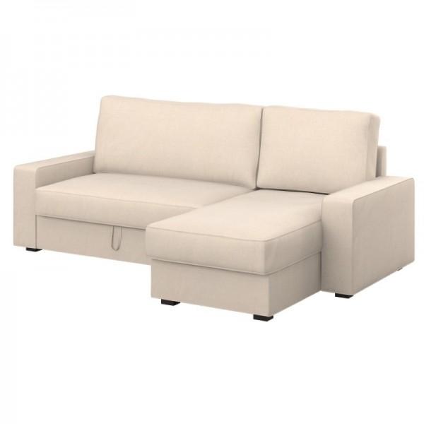 VILASUND Bettsofa mit Récamiere Bezug - Soferia   Bezüge für IKEA-Möbel