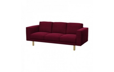 IKEA NORSBORG 3er-Sofa Bezug